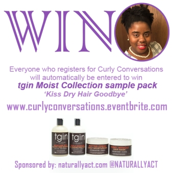 tgin prize at Curly Conversations