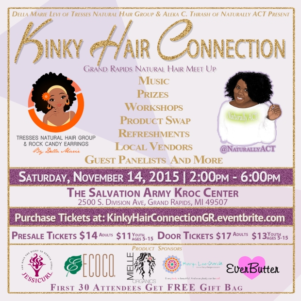 Kinky Hair Connection (Flyer)